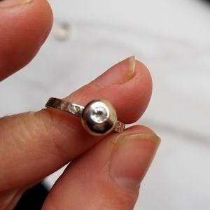 Jewelry - Topaz silver ring